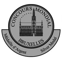 Silver Medal-Concours Mondiale de Bruxelles. Bodegas Isidro Milagro.