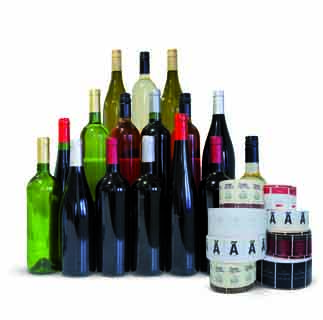 Bodegon botellas de vino para marca blanca Bodegas Isidro Milagro.