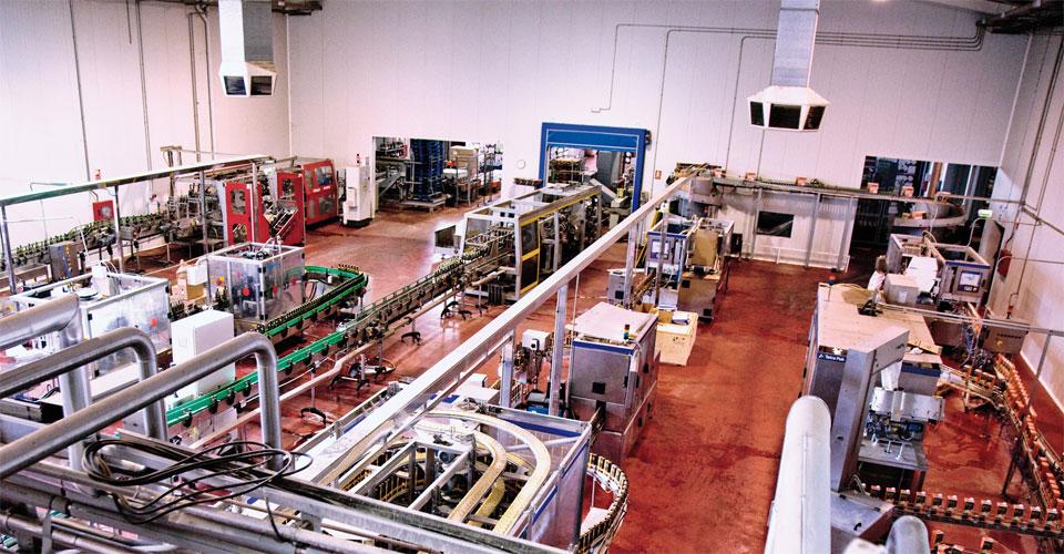 Instalaciones fábrica Bodegas Isidro Milagro