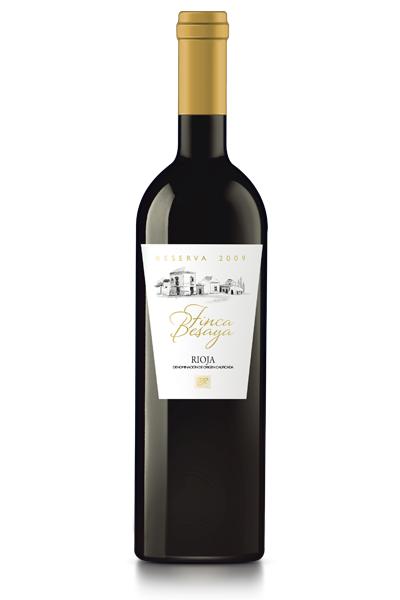 Vino Reserva Finca Besaya. D.O. Ca Rioja. Bodegas Isidro Milagro.