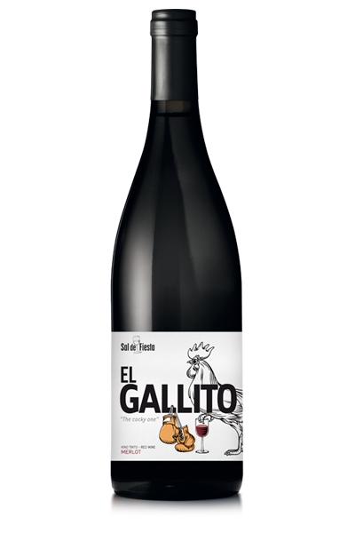 Vino Sal de Fiesta El Gallito. Bodegas Isidro Milagro.