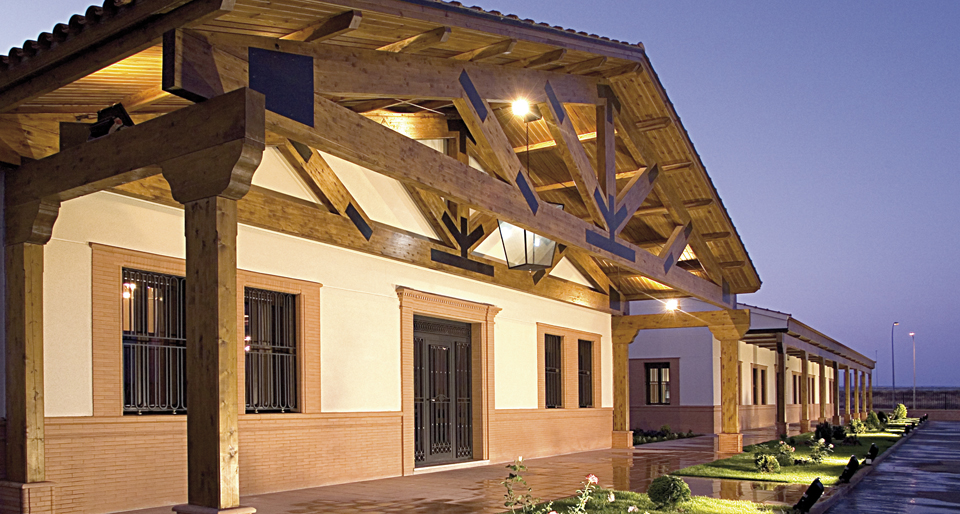 Instalaciones Bodegas Isidro Milagro en La Rioja
