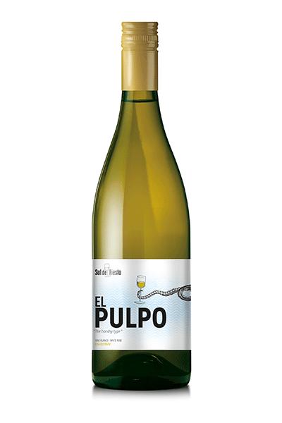 Vino Sal de Fiesta El Pulpo. Bodegas Isidro Milagro.