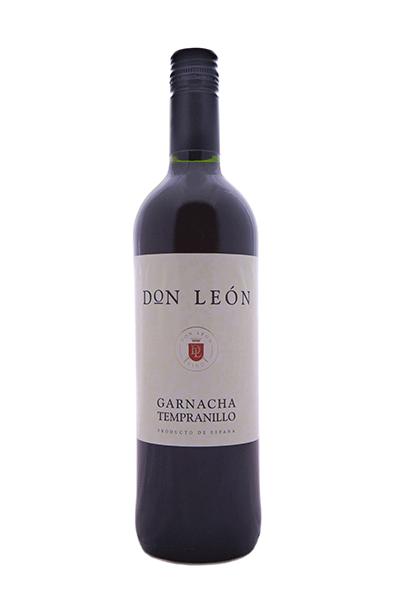 Vino tinto Don León. Bodegas Isidro Milagro.