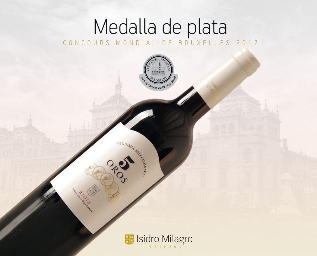 Bodegas Isidro Milagro premios